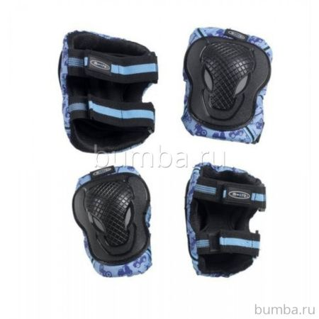 Комплект защиты Micro 2 в 1 (синий) L