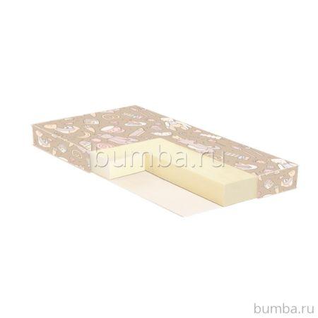 Матрас Baby Care Nature Bambus-8 119х60х8см