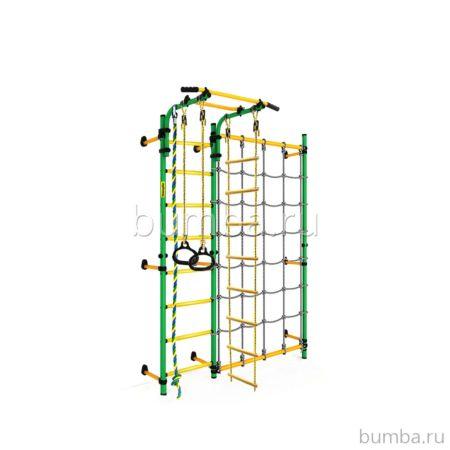 Детский спортивный комплекс Kampfer Gridline Wall (зеленый-желтый)