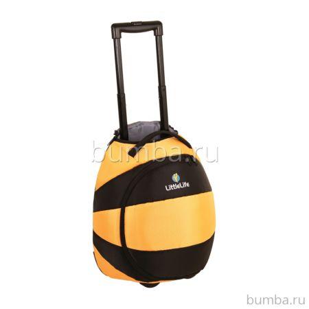 Чемодан на колесах LittleLife (пчелка)