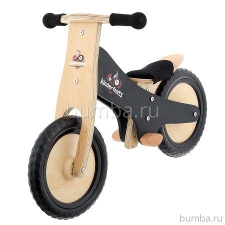 Беговел Kinderfeets Classic (черный) ДИСКОНТ
