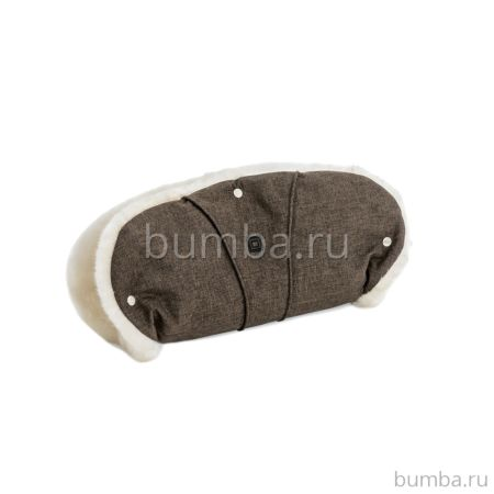 Муфта для коляски Moon Handmuff Brown Melange