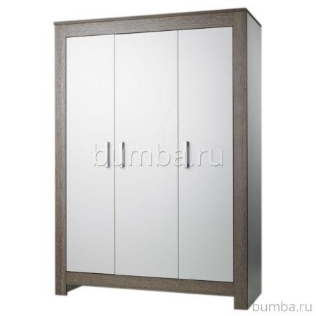 Шкаф трехсекционный Geuther Marlene (белый/серый)