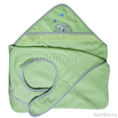 Полотенце-фартук Polini Зайки (Зелёный)