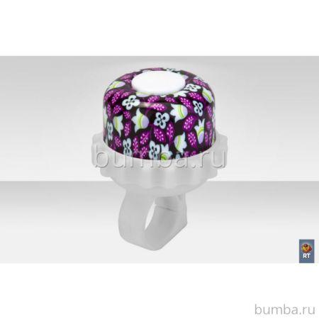 Звонок из алюминия RT (фиолетовые цветы)