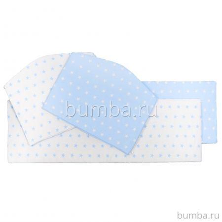 Бампер для кроватки Sweet Baby Stelle Blu