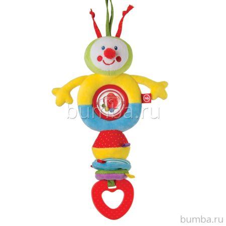 Подвесная игрушка Happy Baby Talky Caterpillar
