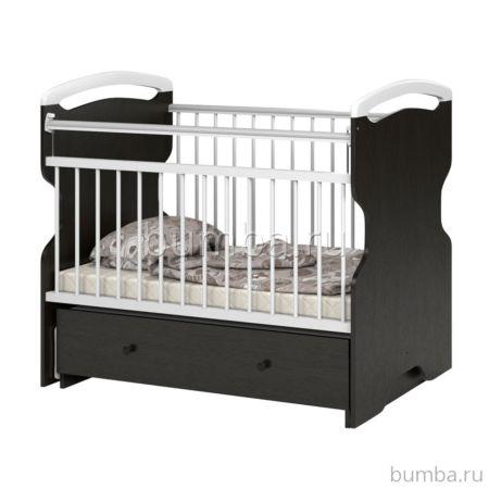 Кроватка детская Sweet Baby Ofelia (поперечный маятник) Wenge Bianco
