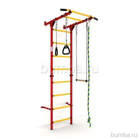 Детский спортивный комплекс Карусель S1 (красно-желтый)