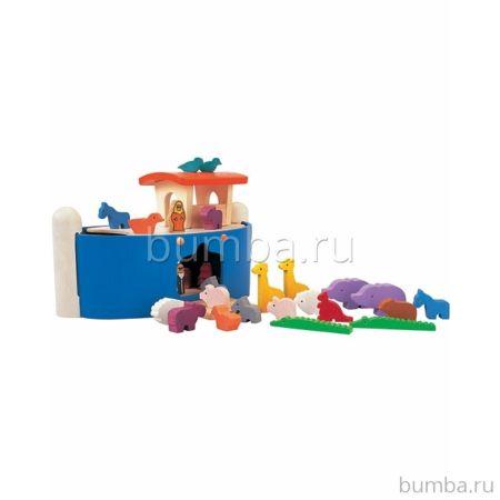 Развивающая игрушка PlanToys Ноев ковчег