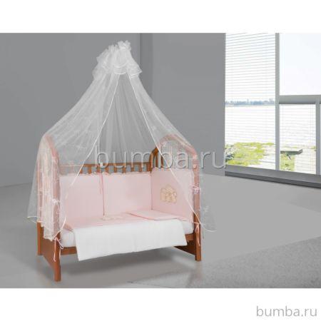 Комплект постельного белья Esspero Gentle Bruin (6 предметов) Light Pink