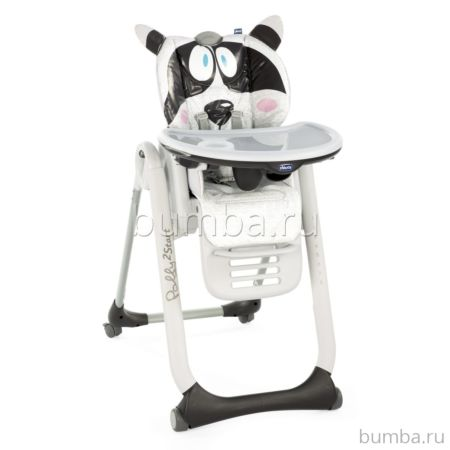 Стульчик для кормления Chicco Polly 2Start Honey-Bear