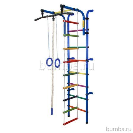 Детский спортивный комплекс Формула Здоровья Орленок-1А Плюс (синий)