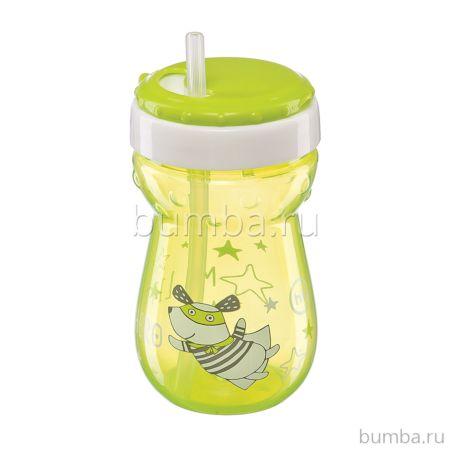 Поильник Happy Baby Straw Feeding Cup с трубочкой