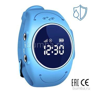 Детские часы с GPS-трекером SmartBabyWatch W8 (голубые)