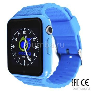 Детские часы с GPS-трекером SmartBabyWatch X10 (голубые)