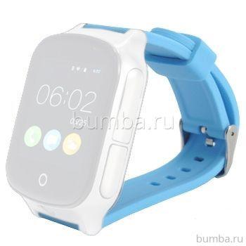 Ремешок силиконовый SmartBabyWatch T100 (голубой)