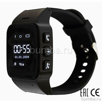 Часы с GPS-трекером SmartBabyWatch D99 (черные)