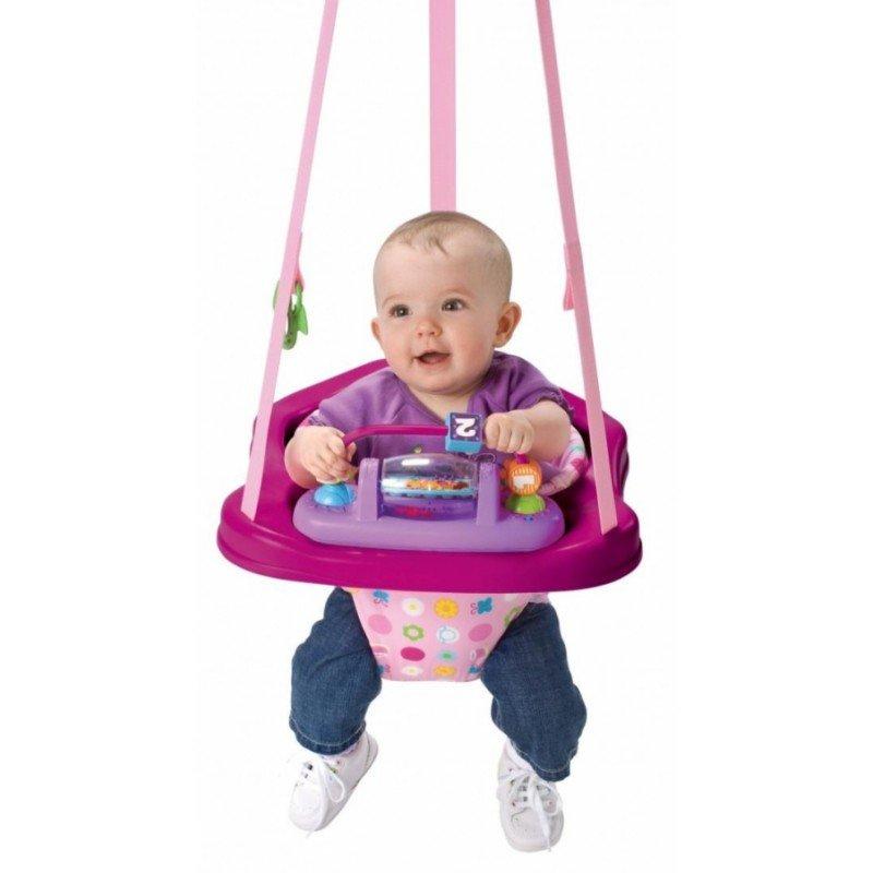 малыш в прыгунках